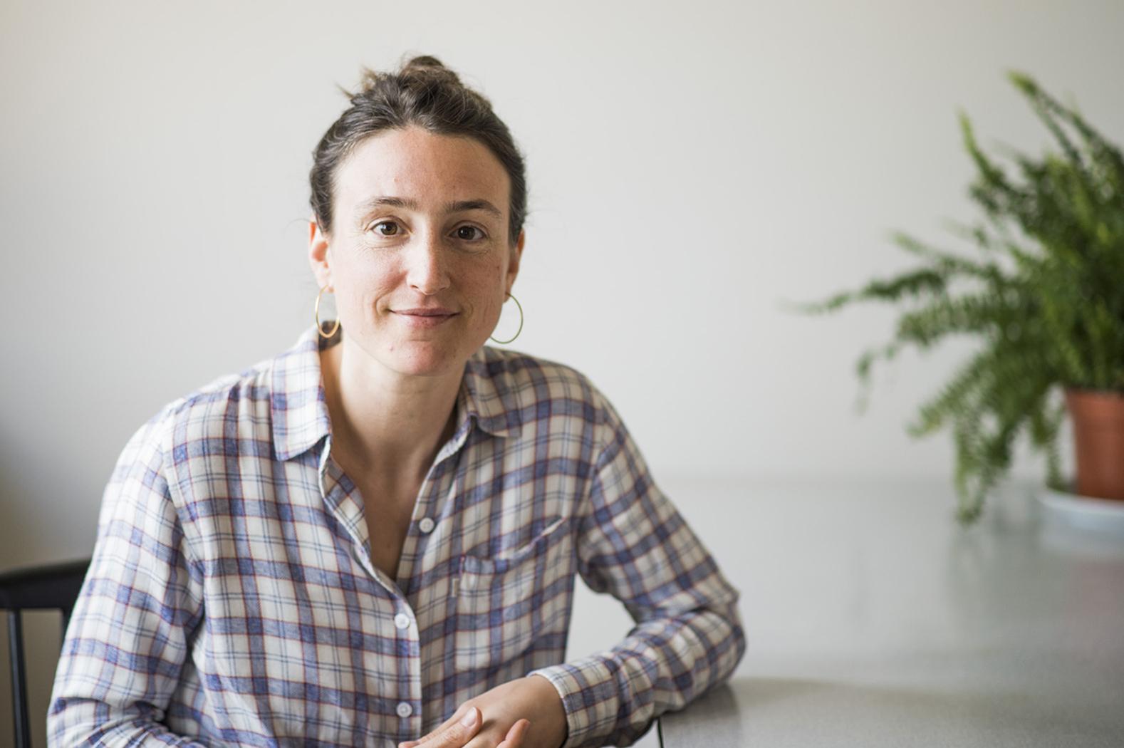 Marie Hoffsess, journaliste et naturopathe